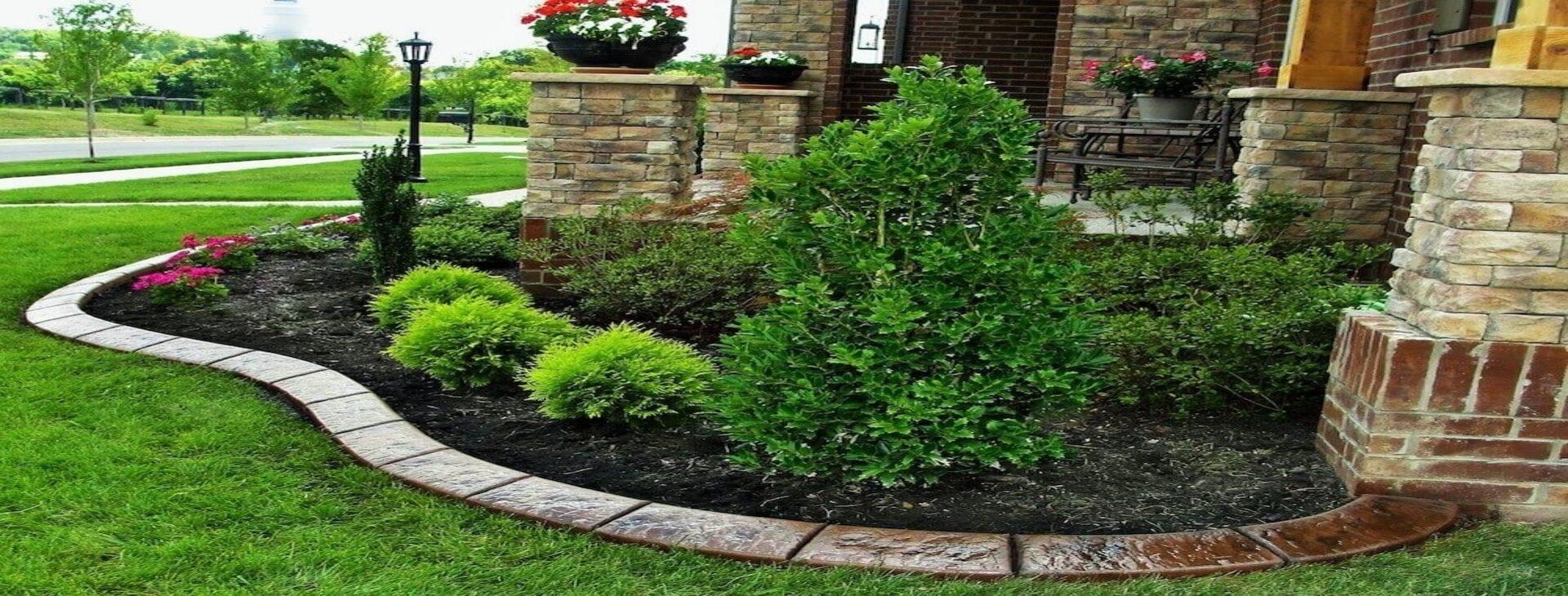 Add Decorative Edge to your landscape design .